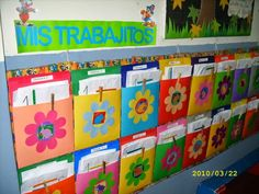 lilipazp uploaded this image to 'Material didactico Pre Kinder'. See the album on Photobucket. Classroom Organisation, Classroom Setup, Classroom Design, Classroom Decor, Toddler Classroom, Preschool Classroom, Class Decoration, School Decorations, Home Daycare