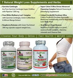 7 Natural Weight Loss Supplements and Herbs : Garcinia Cambogia: Ultra Pure Garcinia Cambogia Super CitriMax with Piperine. White Mulberry Leaf Extract: All-Natural Ingredients Garcinia Cambogia, Green Coffee Bean, African Mango Extract. Raspberry Keto http://www.shavethepounds.com/how-many-times-a-day-do-you-take-garcinia-cambogia/