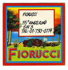 https://flic.kr/p/95R7E8 | Fiorucci business card