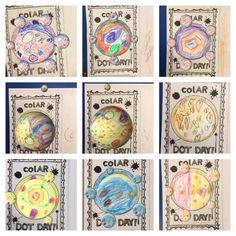 We used Quiver (ColAR Mix) to bring our dots to life! #dotday15