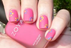"""retro and dotted """"flowers"""""""