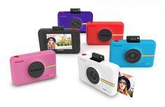 Snap Touch, la nueva cámara digital instantánea de Polaroid