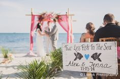 Rustic Beach Wedding Sign Two Less Fish In The Sea Sign with Heart Ocean Blue Wedding Decor Key West Wedding (52.00 USD) by iDecor4you beach wedding signs two less fish sign wedding beach signs rustic wedding sign wooden beach sign Mr and Mrs sign Beach wedding decor heart wedding sign ribbon wedding sign ring bearer sign beach wedding personalized sign beach wedding gift