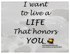 Grief chose us but now we chose how we live our lives | The Grief Toolbox