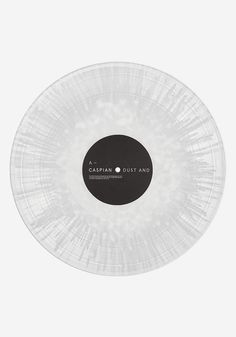 "A Newbury Comics exclusive colored vinyl pressing. Caspian - Dust and Disquiet - Limited to 500 ""Clear with White Splash"" 2 LP color vinyl."