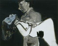 Marlene Dumas, The Image as Burden, 1993 Private collection, Belgium © Marlene Dumas Photo: Peter Cox