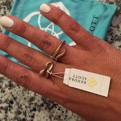 Kendra Scott snake ring NWT Kendra Scott Jewelry Rings
