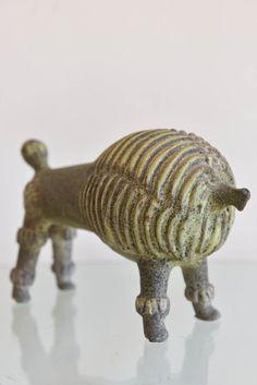 Mid Century Ceramic Poodle by Alfaraz by TheModernVault on Etsy