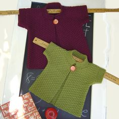 A girl's topper (ages 2-10 years) in double moss stitch - maddycraft.com