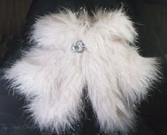 Couture Dog Bolero Light Pink Faux Fur Beaded by Tinypawscouture .:BēLLäSFãSh!oN:.
