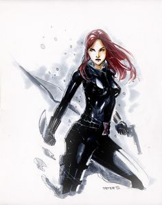 Snow Widow by Peter-v-Nguyen.deviantart.com on @deviantART