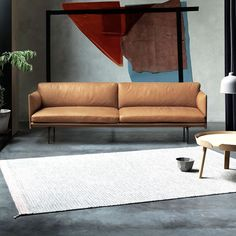 With its undefined shape Belt for Moroso is a comfortable sofa, an ...