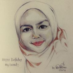 Nah, I give this special for you Aina. Happy Birthday!