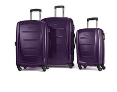 Samsonite Winfield 2 Fashion Hardside 3 Piece Spinner Set - Purple (56847-1717) 43202621925 | eBay