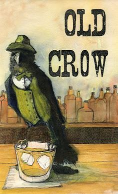 Love this Dapper Corvid!!!! The Work of William Blake: Old Crow Illustration
