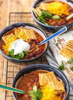 6 Ingredient Lazy Day Chili (The Cookie Rookie) Fodmap, Best Easy Chili Recipe, Easy Chilli, Blueberry Bread Recipe, Slow Cooker, A Food, Food And Drink, Crockpot, Chilli Recipes