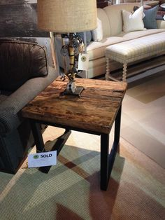 Southend Trading Company- side table