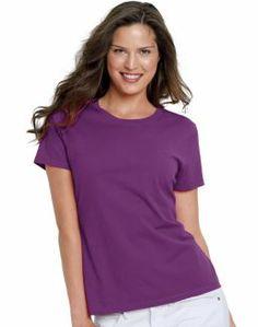Hanes Live.Love.Color Crewneck T-Shirt $8