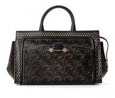 Jason Wu, borse Primavera Estate 2014 - Bauletto laserato bicolor #bag #black
