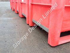 Mobile red dolav pallet boxes Pallet Boxes, Storage Design, Red, Pantry Design
