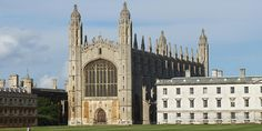 Cambridge - Kings College Chapel - A fine example of the stunning architecture in the UK - this piece of Gothic English Architecture is a tourist destination for many
