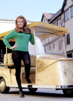 """msmildred: """"""""Ann- Margret and her custom golf cart on the Paramount lot, Photo By Mel Traxel. Ann Margret Photos, Cincinnati Kids, Woman Movie, Redhead Girl, Classic Actresses, Vintage Hollywood, Classic Hollywood, Vintage Sweaters, Golf Carts"""