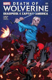 Death of Wolverine Deadpool e Captain America