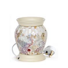 Gold & Pearl Mosaic Electric Melt Warmer - Accessories - Yankee Candle