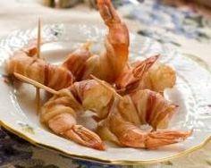 Crevettes au bacon Ingrédients