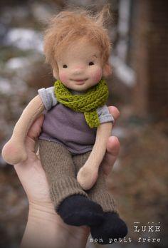 Sock Dolls Doll Toys Baby Dolls Doll Tutorial Doll Clothes Patterns Doll Patterns Luke 9 Arteira New Dolls Sock Dolls, Doll Toys, Doll Tutorial, New Dolls, Waldorf Dolls, Boy Doll, Luke 9, Fabric Dolls, Doll Face