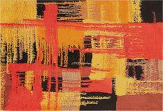 Vintage Swedish Rya Carpet  http://nazmiyalantiquerugs.com/blog/2014/02/rya-rugs-by-nazmiyal-vintage-carpets/