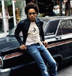 Lenny Kravitz, I would love a ride home in your car.