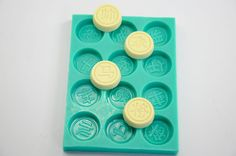 Chinese Chess Shape Chocolate Mold Fondant Mold Sugar Mold Candy Silicone Mold