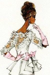 Barbie silkstone design sketches by Robert Best