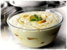 Tiramisu, Hungarian Recipes, Hungarian Food, Trifle, Hummus, Food And Drink, Pudding, Sweets, Cooking