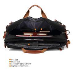 Convertible Backpack Laptop bag