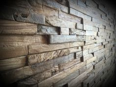 Reclaimed Wood Wall. Rustic Wall Panels. Decorative Wall. Home Decor. Teak Wood. Recycle Wood. by TicinoDesign on Etsy https://www.etsy.com/listing/244816957/reclaimed-wood-wall-rustic-wall-panels