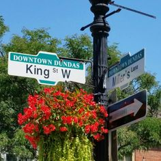 King and Sydenham in beautiful valley town of Dundas Ontario Dundas Ontario, King, Beautiful