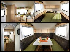 Teardrop Trailer Interiors | The clean lines, minimalist interior and 550kg/1212lb curb weight of ...