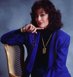 Dixie Carter, a.k.a. Julia Sugarbaker. If you've never met my Momma, this is pretty much her.