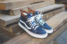 Vans Sk8 High-Top. I have the bag to match with those preties!! Vans, most beautiful sneakers on the planet