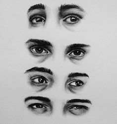 It's probably creepy that I could tell that these were Tyler's eyes.
