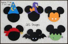 Mickey Halloween, Halloween Design, Halloween Cards, Scary Halloween, Halloween Decorations, Halloween Ideas, Disney Cards, Disney Diy, Disney Ideas