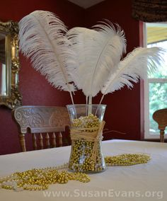 flapper party ideas | 1920s-party-decorations More