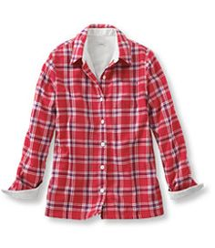 #LLBean: Fleece-Lined Flannel Shirt - a MUST HAVE for fall!