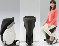 Honda has revealed the upgraded beta version of their very popular UNI-CUB hands free mobility device that came back in May 2012. The new version of Honda's mobility device is dubbed as UNI-CUB β and boasts-off balance control technology and omni-directional driving wheel system