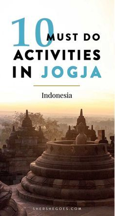 Yogyakarta, often nicknamed Joga, is Indonesia's cultural soul. Here are 10 can't miss attractions in Java from Borobudur to rice fields to Prambanan and more!