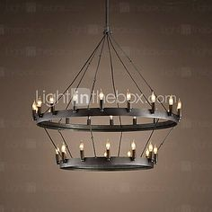 Sloane 6 Arm Chandelier A Center Suspended Chandelier To
