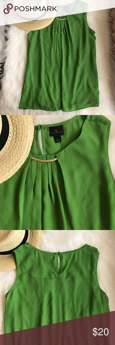 Green blouse size Large New with tags blouse size Large. Perfect for spring Tops Blouses