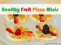 Fruit Pizza Minis